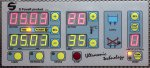 Digital control panel of the ultrasonic cleaner